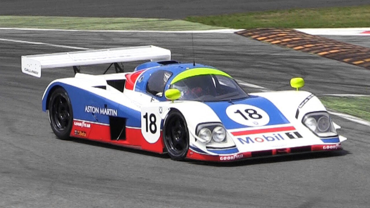 1989 Aston Martin AMR1 Group C Loud Sound - YouTube