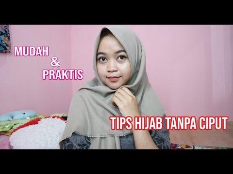 Tips Menggunakan Hijab Tanpa Ciput Mudah Praktis Youtube