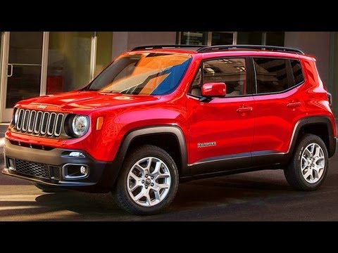 revelado jeep renegade 2015 4x4 plataforma do fiat 500x youtube. Black Bedroom Furniture Sets. Home Design Ideas