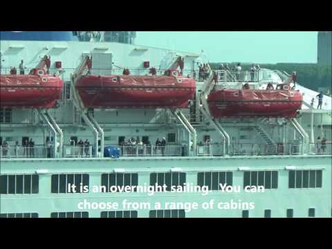 DFDS MS Crown Seaways Cruise Ferry from Cabin 1054 Royal Caribbean Cruise Ship