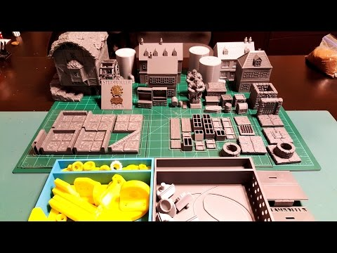 Made With My MakerGear M2 - Ep 04 PART 2 Printable Scenery Mill, Custom Holder, Dice Box 2.0