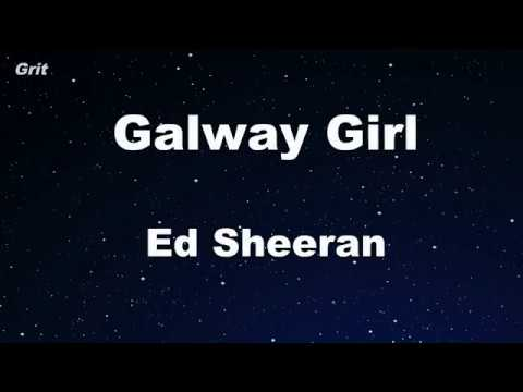 Galway Girl - Ed Sheeran Karaoke 【No Guide Melody】 Instrumental