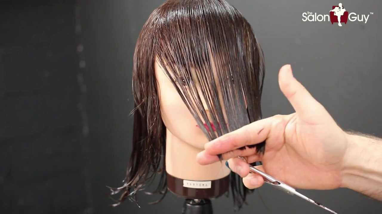 Haircut Tutorial Medium Length Layers Youtube