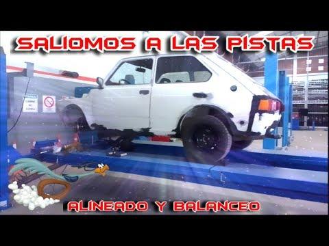 Primera salida, Alineado y balanceo I Un sueño cumplido I Fiat 147