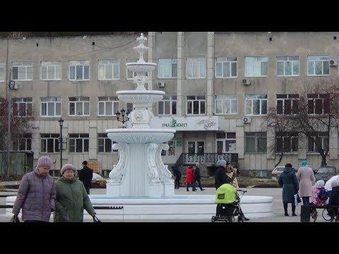 Асбест меняет свой облик. Прогулка по обновлённой Форумной площади, 27.10.2018 г.