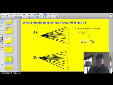 4.2A Greatest Common Factor
