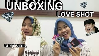 Unboxing LOVE SHOT repackage album EXO
