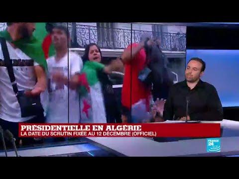 Présidentielle en ALGÉRIE fixée au 12 décembre :