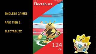 Pokemon Go Raid tier 2 - Electabuzz