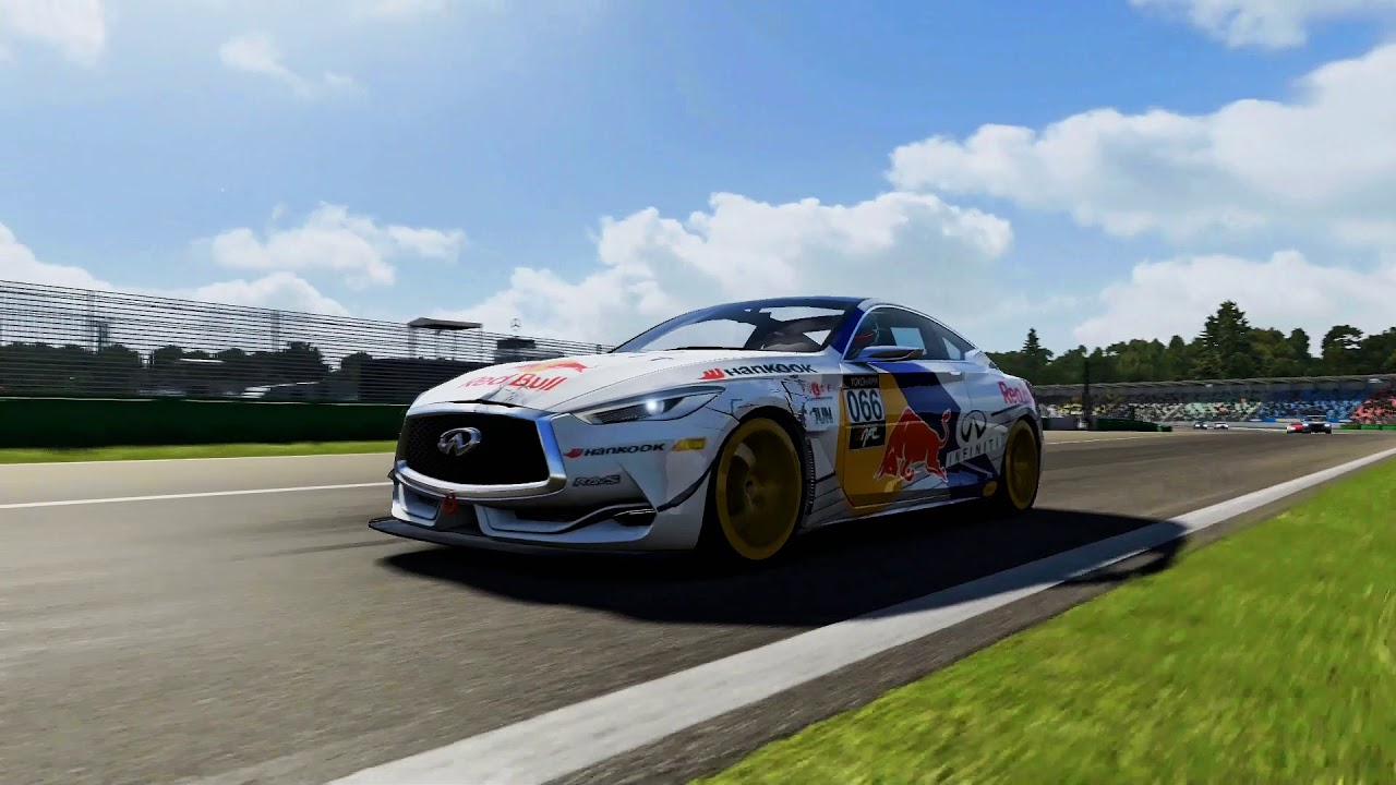 15 Red Bull Infiniti Q60 Concept Hockenheimring National Circuit