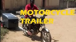 Trailer Pulled by Motorcycle by The Three Musketeers Mobile Digital Libraries #solar