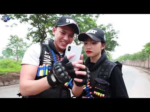 LTT Nerf War : Couple SEAL X Warriors Nerf Guns Fight Criminal Group Dr Lee Man One eyes