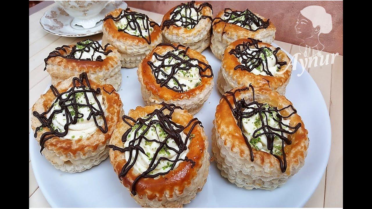 Kahvaltılık Milföy Çanakları