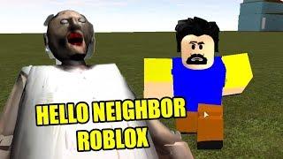 Hi Neighbour evil neighbour | HELLO NEIGHBOR ROBLOX