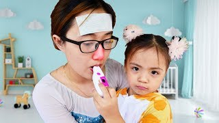 Sick Mom Song | Nursery Rhymes Song for Kids Education video