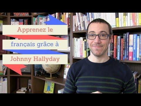 Apprenez le français grâce à Johnny Hallyday
