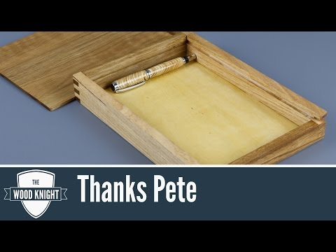 111 - Thanks Pete/Stationery Box