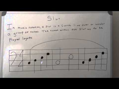 Piano Theory: Slur Notes - Music Theory
