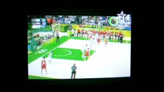 Live ARG vs CRO Basketball 2016 / Croatian coatch gone crazy