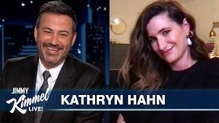 "Kathryn Hahn Talks WandaVision & Plays ""Can You Lift Your Husband?"""