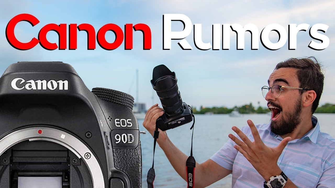 Canon 90D Rumors - The New 4k Beast That Will Take Over !
