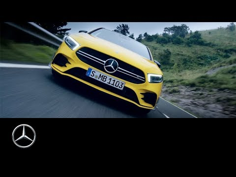 Mercedes-AMG A 35 4MATIC (2019): Emotional, Agile & Digital | Trailer