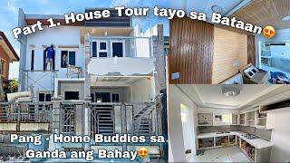 Part 1. House tour tayo sa Bataan / Pang-Home buddies sa ganda ang bahay / ofw dream house