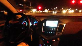 2014 Chevrolet Cruze 2LT: Driving at Night