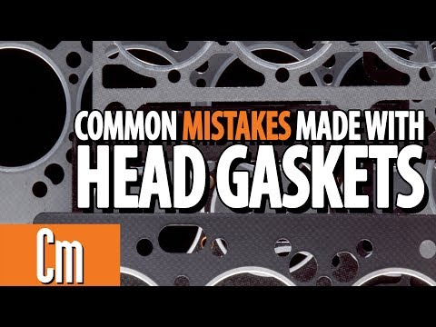 Common Mistakes Made With Automotive Head Gaskets   Counter Intelligence
