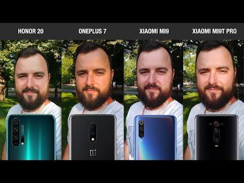 Сравнение Honor 20, OnePlus 7, Xiaomi Mi 9 и Xiaomi Mi 9T Pro