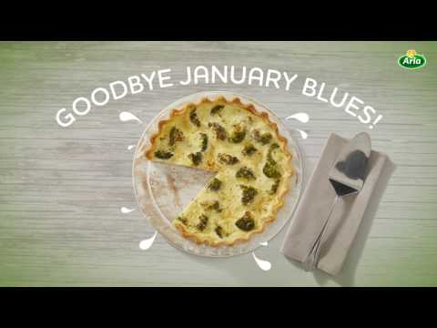 Arla Quark Broccoli Quiche Recipe