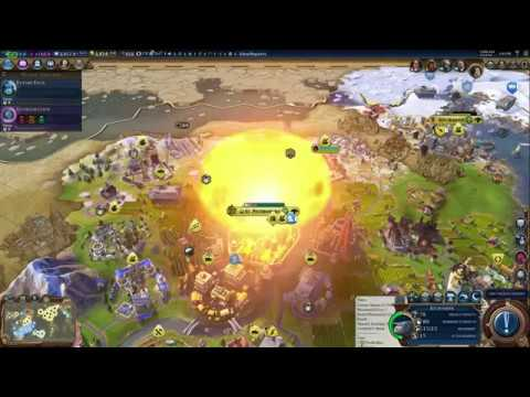 Civilization 6 - Nuclear and Thermonuclear Bombs