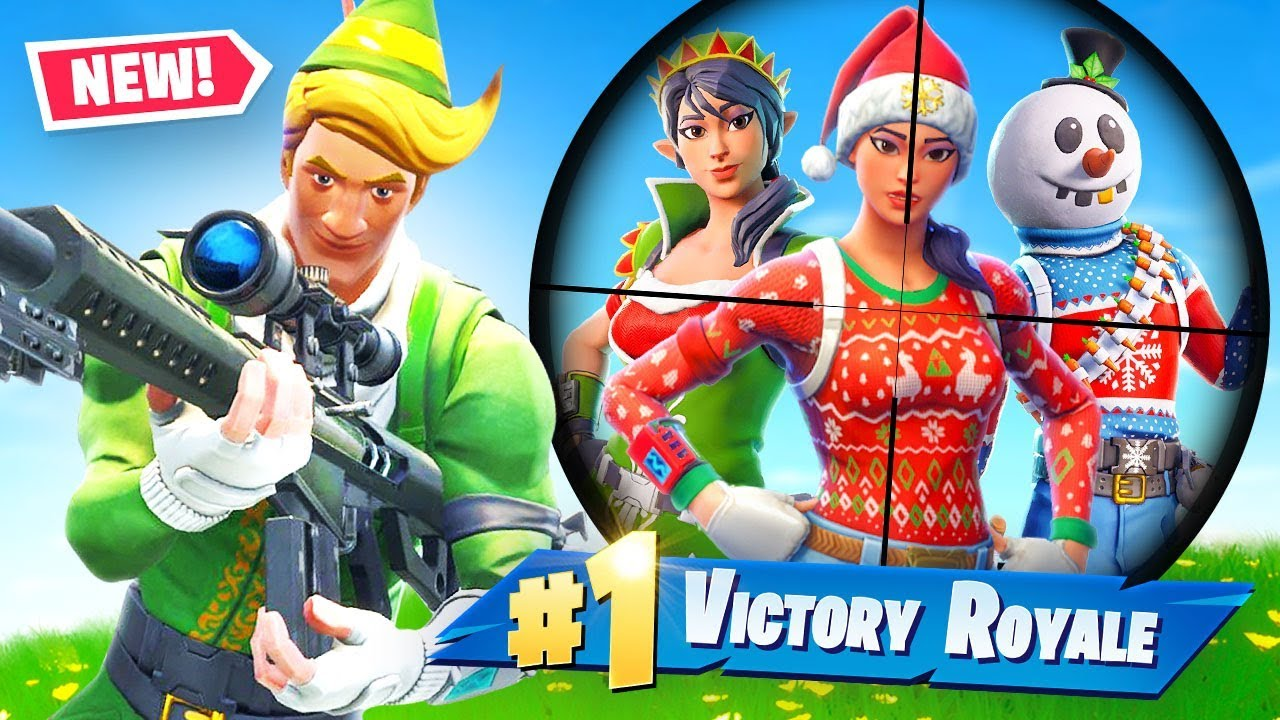 fortnite-but-you-can-only-loot-christmas-skins-challenge