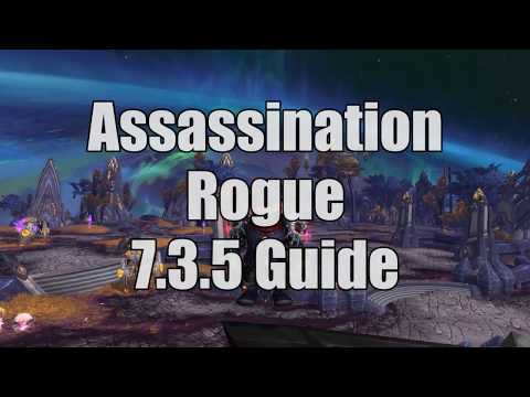 7.3.5 Assassination Rogue Guide PvE