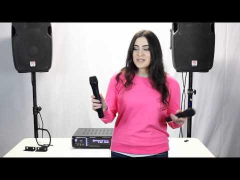 Rockville RPA7000UWM 1000 Watt 4 Channel Pro/Karaoke Amplifier & Mixer Demo/Review
