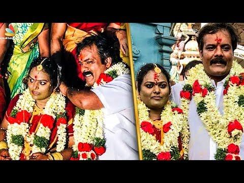 Actor Munishkanth Ties the Knot   Ram Doss   Celebrity Wedding