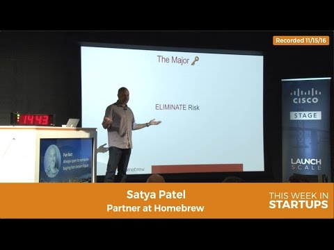 Homebrew's Satya Patel on how to address fact that investors