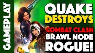 Quake DESTROYS COMBAT CLASH Rogue on Brawl Node!