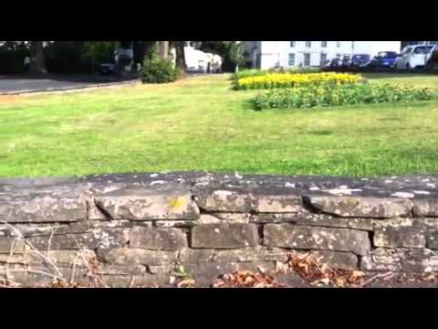 How To Build A Low Natural Stone Wall Youtube
