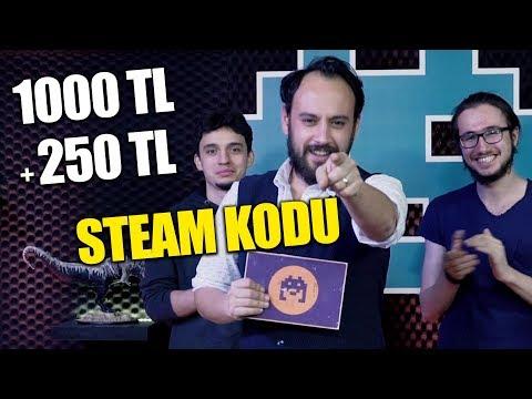 TOPLAM 1250 TL STEAM CÜZDAN KODU! / Bilgi Yarışması FİNAL!
