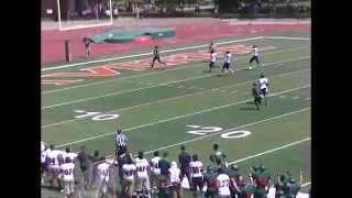 University of La Verne Football 2014 Season Highlights