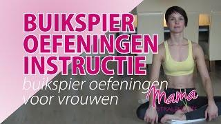 Buikspier Oefeningen voor Vrouwen Instructie