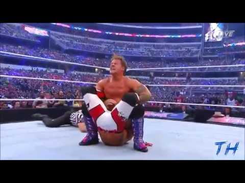 Download AJ Styles vs Chris Jericho Highlights HD Wrestlemania 32   1474734287655