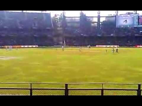 Sachin Tendulkar 200th Test: Vijay hits a boundary