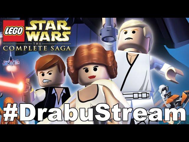 LEGO STAR WARS DIE KOMPLETTE SAGA 100% #DrabuStream