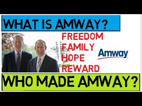 An encounter with an Amway / WWDB recruiter