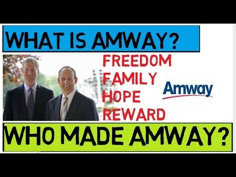 amway marketing plan