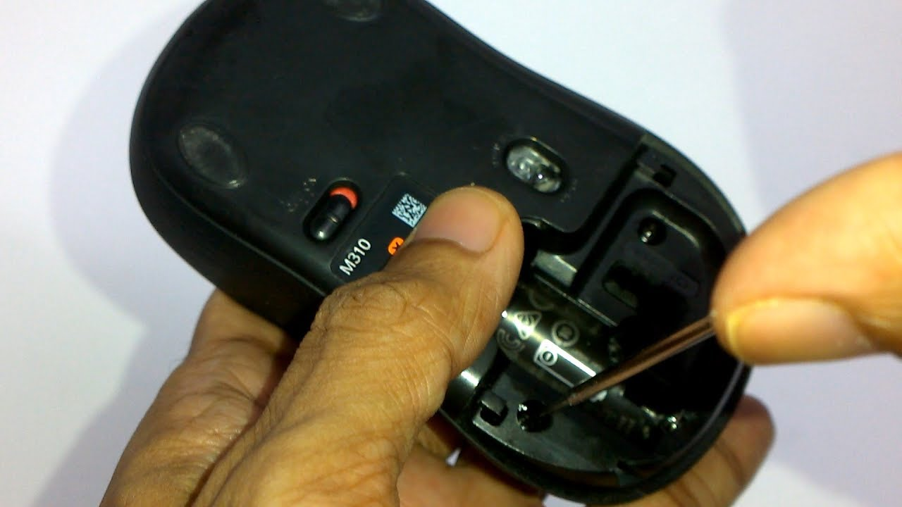 Logitech M310 Mouse - Complete Disassembly