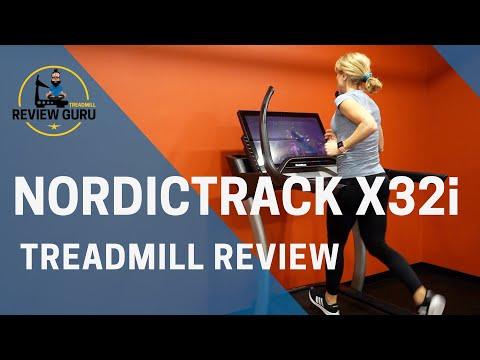 NordicTrack X32i Incline Treadmill Review 2019-2020 Model
