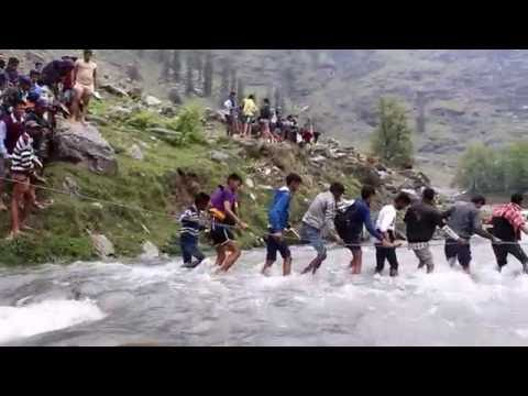 River Crossing on the Beas River